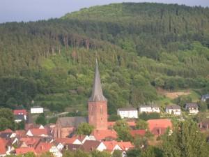 Lügde, eine mittelterliche historische Fachwerkstadt